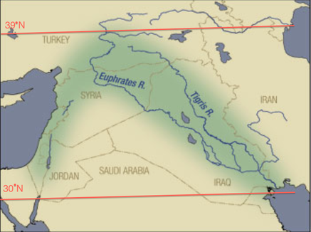 The Properties Of Minerals - Plate Tectonics - Climate ... |Fertile Crescent Population Density